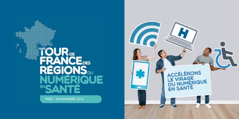 Concertations du numérique en Santé : le Tour de France et la participation en ligne