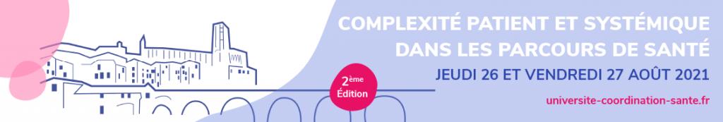 Université de la coordination en santé 2021 - 26 et 27 août 2021